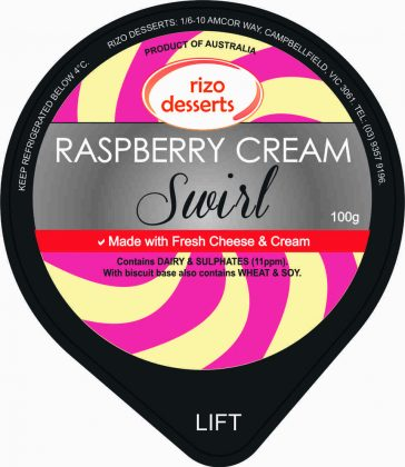 Raspberry Cream Swirl