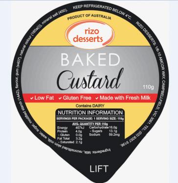 Baked Custard
