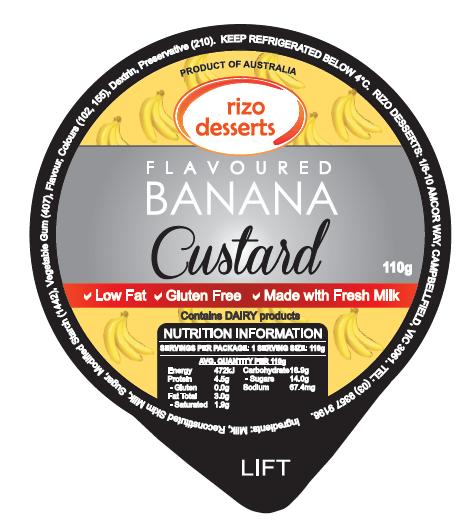Banana Custard