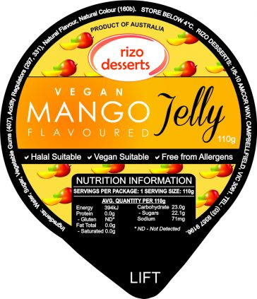 Vegan Mango Jelly