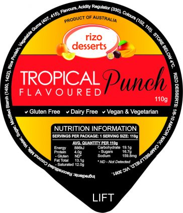 Vegan Tropical Punch Cream